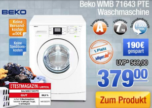 7kg waschmaschine a 1600 upm von beko 379 eur frei. Black Bedroom Furniture Sets. Home Design Ideas